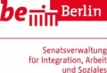 Logo Berliner Senatsverwaltung für Integration, Arbeit und Soziales