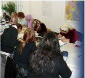Teilnehmerinnen in unserem Schulabschlusskurs